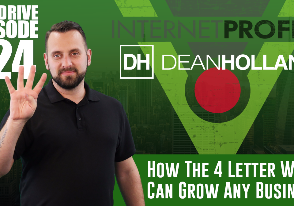 How-The-4-Letter-Word-Can-Grow-Any-Business-The-Drive-Episode-124