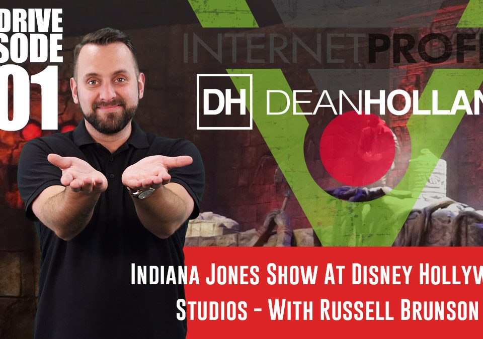 Indiana-Jones-Show-At-Disney-Hollywood-Studios-With-Russell-Brunson-The-Drive-Episode-201